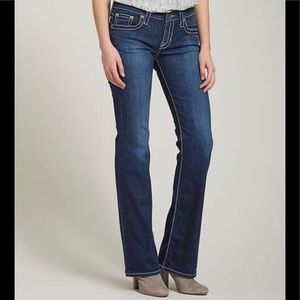 Big Star dark wash Remy Bootcut Jeans sz 30 Long